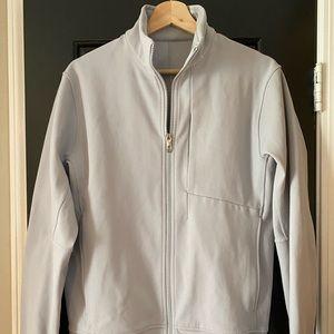 Lululemon men's Sojourn jacket - light grey